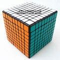 Shengshou 9 x 9 x 9 Cubo mágico Puzzle blanco y negro y primaria de aprendizaje y juguetes educativos Cubo juguetes
