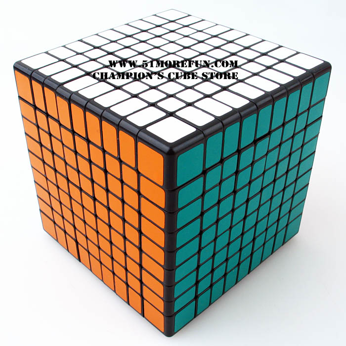 Shengshou 9x9x9 Cube Magic Puzzle Black And White And Primary Learning&Educational Cubo magico Toys funs fangshi limcube dreidel 3x3x3 magic cube puzzle black and white and pink learning