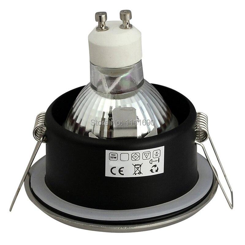 Banyonun aşağı işıqlandırılması GU10 / MR16 uyğun tavan - İşıqlandırma aksesuarları - Fotoqrafiya 6