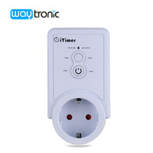 European Power Outlet Wifi Smart Power Plug Socket Intelligent APP Control Time Temperature Controller