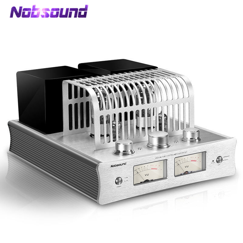 Nobsound Latest DX-925 Vacuum Tube Amplifier Bluetooth 4.0 Stereo HiFi Hybrid Single-Ended Class A Power Amp 220V