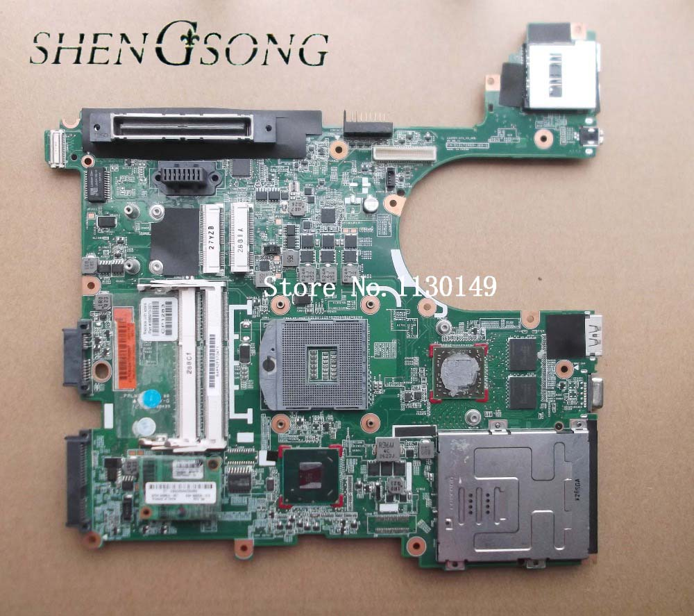 686970-001 Free Shipping 686970-501 Main board for hp Elitebook 8570P Laptop motherboard DDR3 with 7550M Graphics 100%test