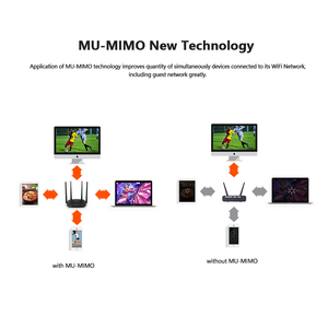 Image 4 - راوتر Tenda AC5 AC1200 هوائيات 5dBi واي فاي مكرر تردد 2.4Ghz 5GHz موجهات ثنائية النطاق تطبيق تحكم واي فاي مع واجهة إنجليزية