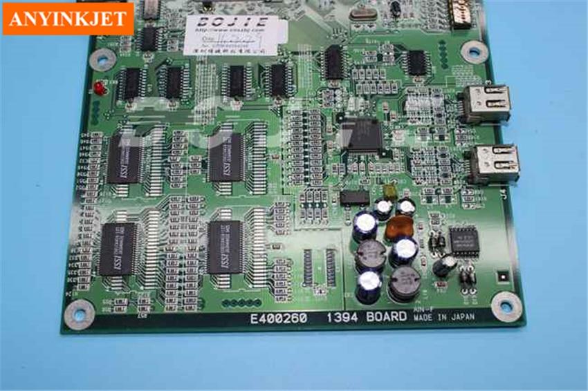 100% original make in Japan Mimaki 1394 main board for Mimaki JV22 JV3 JV4 TX2 printer power board second hand for original mimaki jv4 printer part