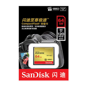 サンディスクエクストリームコンパクトフラッシュカード max120Mb/s 4 18K 32 ギガバイト 64 ギガバイト 128 ギガバイト Class10 メモリカードカメラカード cartao デメモリア