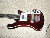 new Custom 4003 Electric Bass 5 Strings Electric Bass Guitar Red New style Custom China guitar Free shipping