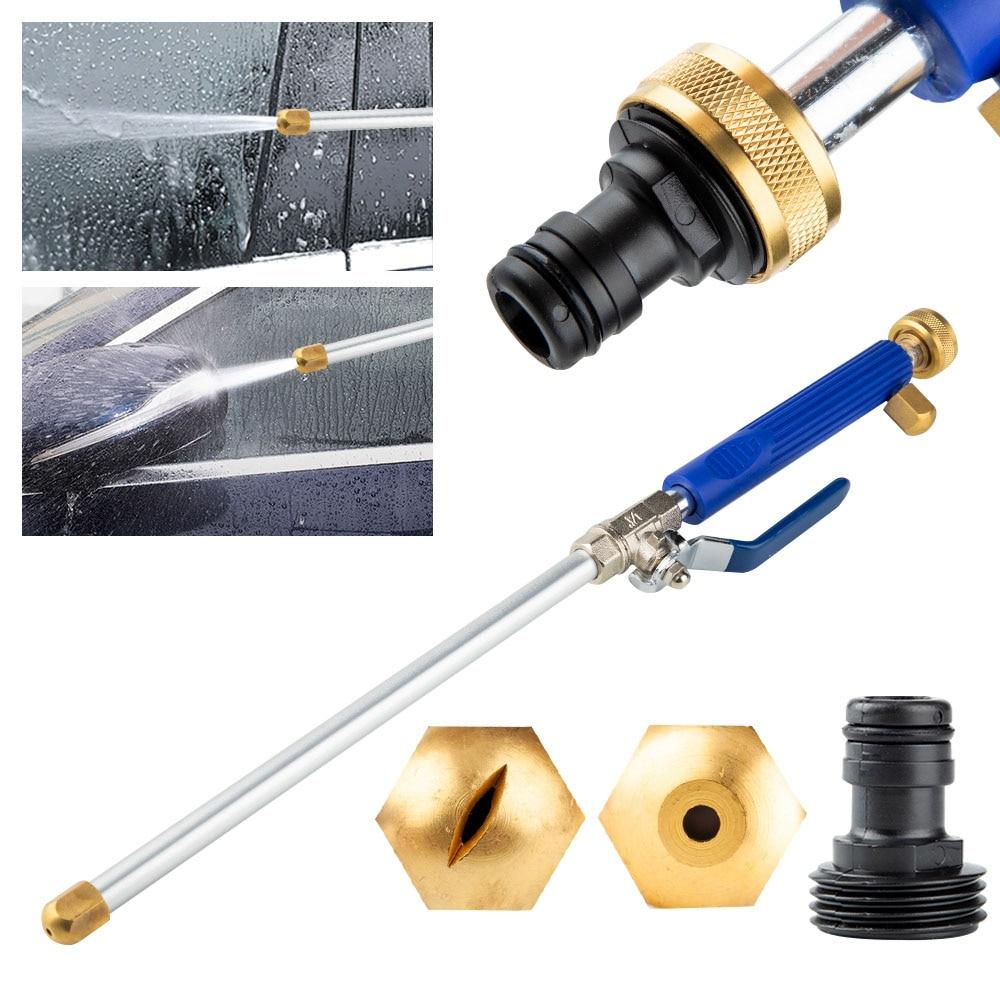 Hochdruck Wasser Pistole 46cm Metall Wasser Pistole Hochdruck Power Washer Spray Auto Waschen Werkzeuge Garten Wasser Jet washer