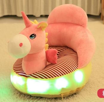 29%,Baby lighted Singing Sofa Cartoon Children LED Plush