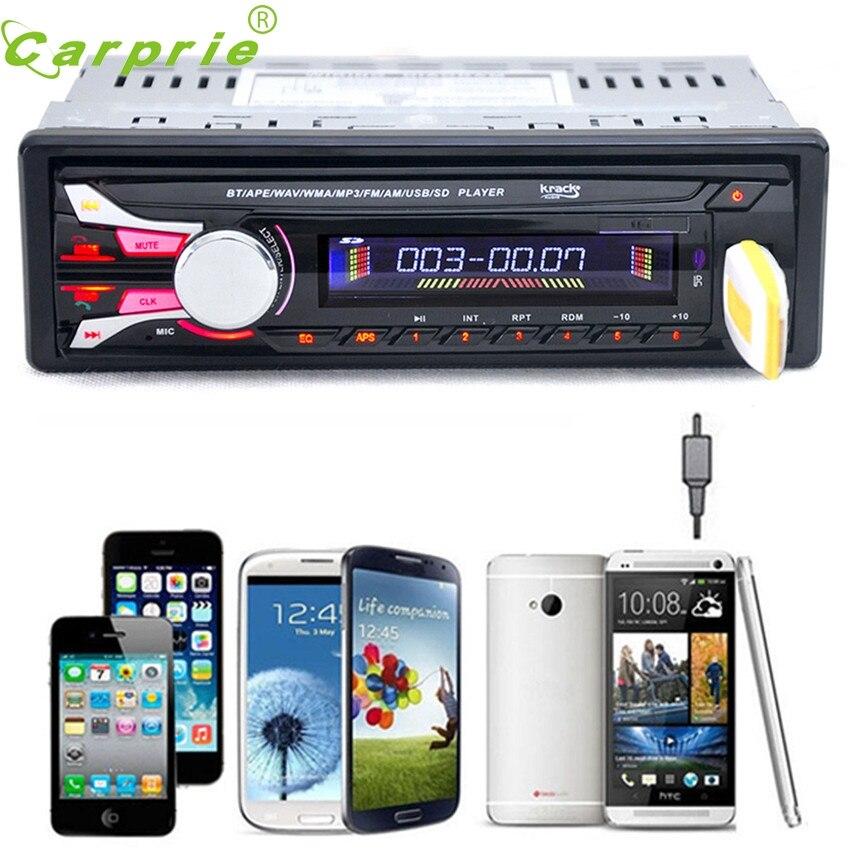 CARPRIE Super drop ship In Bluetooth Car Stereo Audio In-Dash Aux Input Receiver SD/USB/FM MP3 Player Jun6