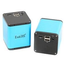 """1/1.9 """"소니 IMX385 센서 1080P HDMI 산업용 비디오 현미경 카메라 C 마운트 U 디스크 비디오 레코더 PCB 전화 납땜"""