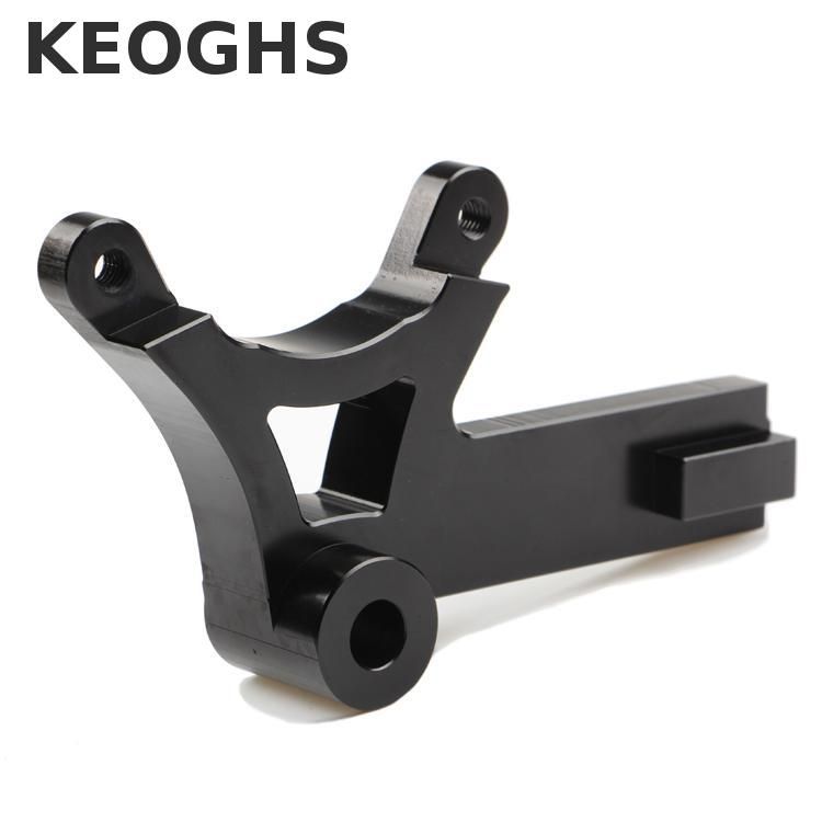 Keoghs Motorcycle Brake Caliper Bracket/adapter For Honda Msx125/rear Original Brake Disc/84mm Brake Caliper All Cnc Aluminum keoghs motorbike rear brake caliper bracket adapter for 220 260mm brake disc for yamaha scooter dirt bike modify