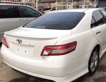 for 2007to 2011 Toyota camry  rear trunk wing spoiler High Quality ABS Material unpainted and Lacque Color