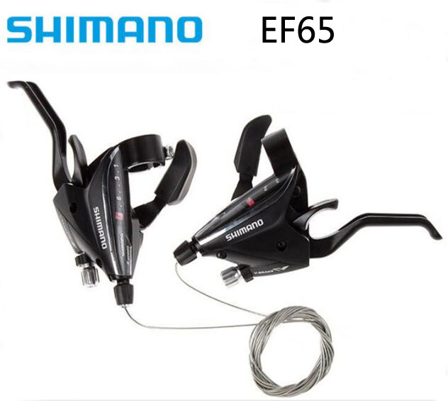 SHIMANO ST EF65 Derailleur Brake 24S 27S Speed Shifter Lever Switch Left Right shift 3sx8s & 3sx9s Cable MTB Bike Bicycle Parts цена 2017