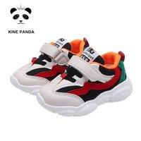 KINE PANDA 1 2 3 4 лет детский сад маленькие дети обувь дышащая для мальчиков повседневные кроссовки для девочек маленьких спортивные кроссовки