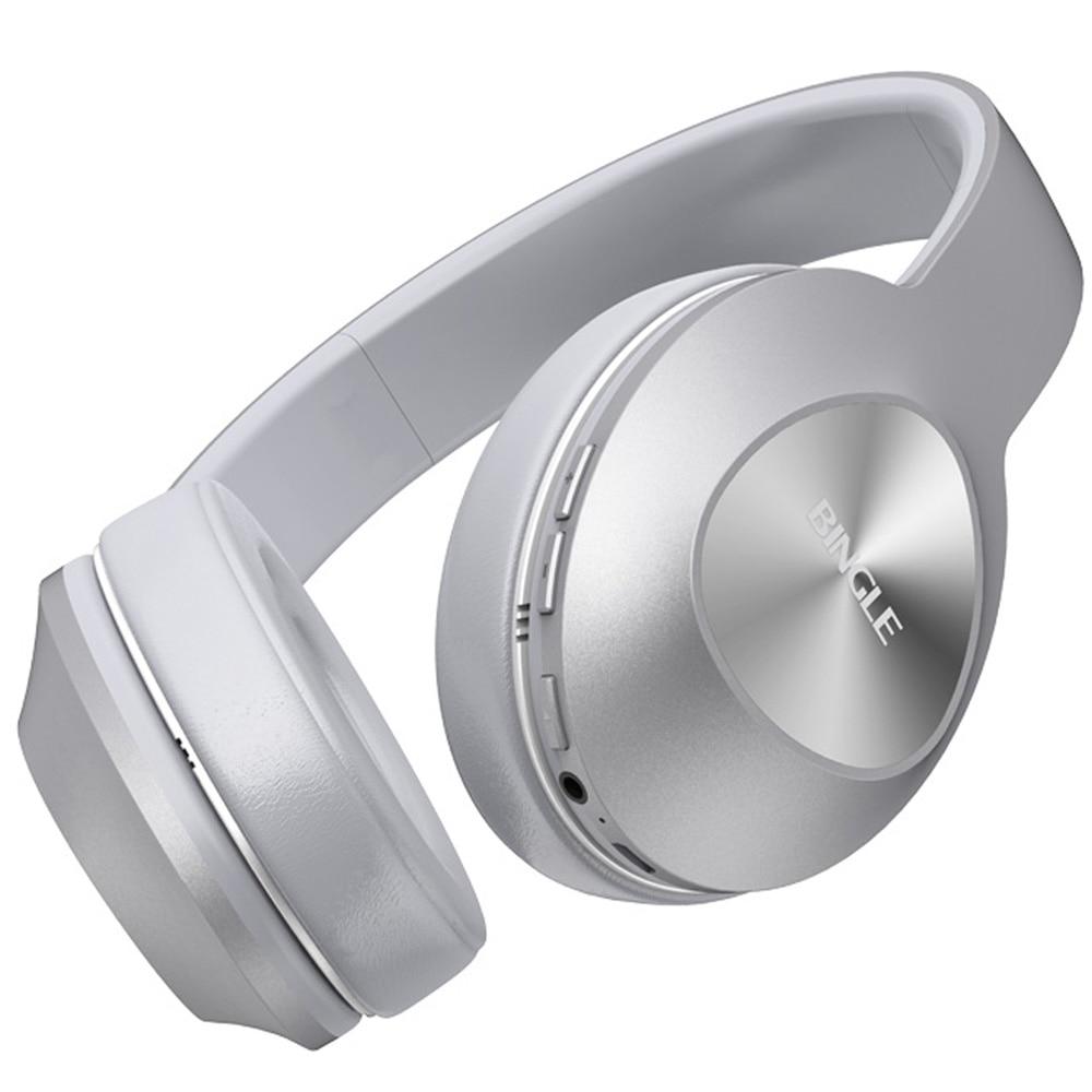 Bingle Q5 Stronger Hifi Folding Extra Lightweight Over Ear Noise Canceling Wireless Blueto