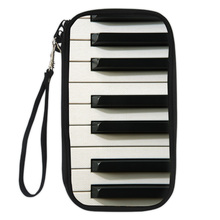 Piano Credit Cards Passport Holder