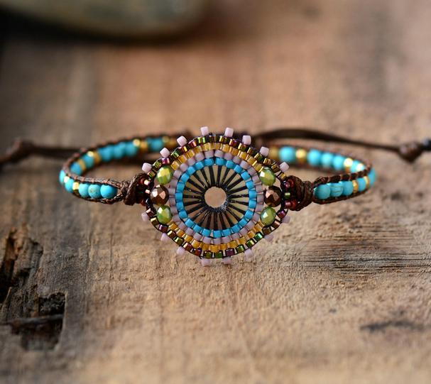 Fashion Seed Beads Boho Bracelet Women