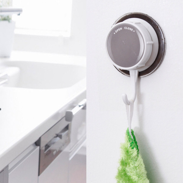 Ordinaire Korea DEHUB Super Powerful Vacuum Suction Hooks, Kitchen Bathroom Tile Free  Nail Hook Crude