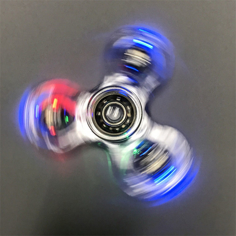 LED Fidget Spinner Stress Relief Toy 9