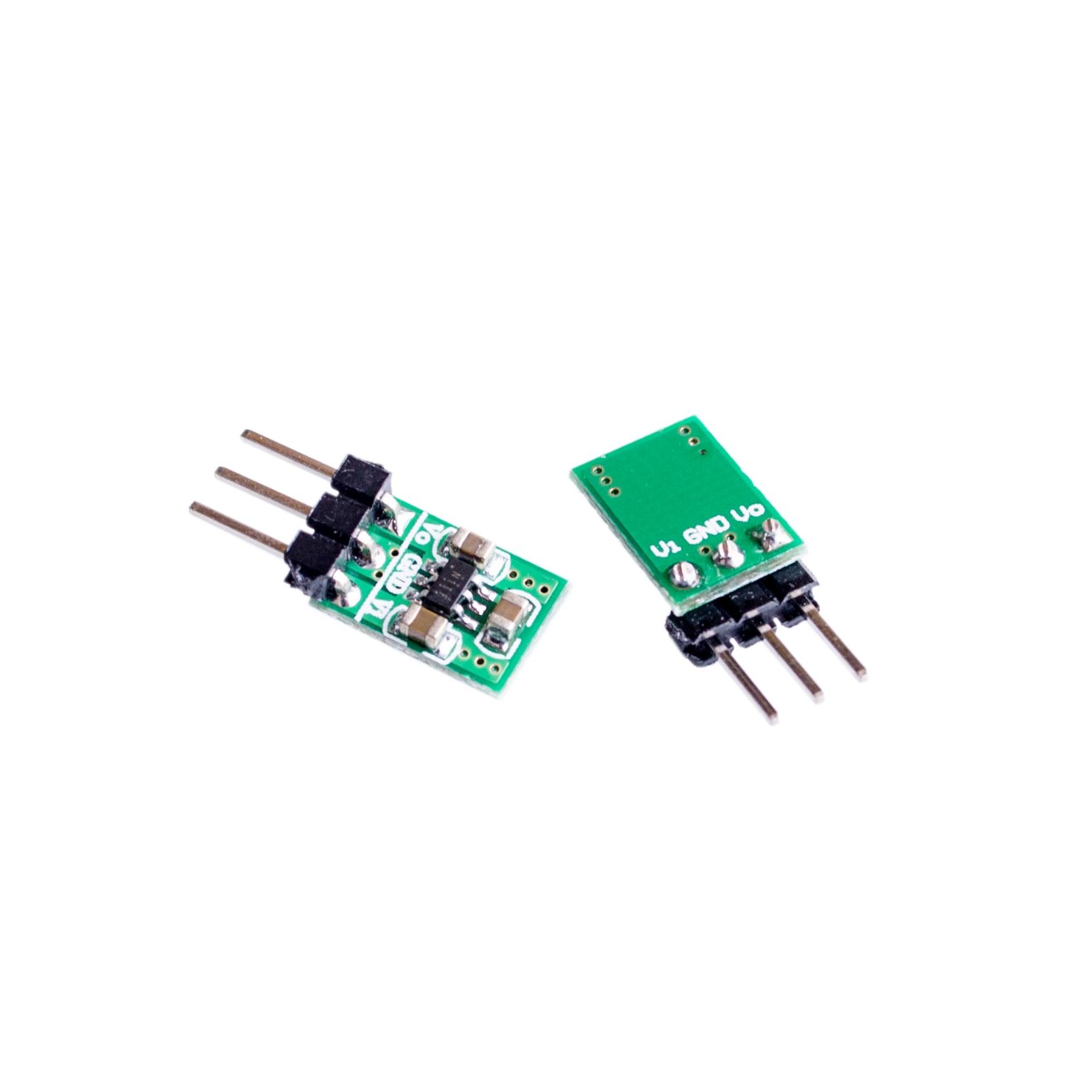 mini 2 in 1 DC DC Step-Down & Step-Up Converter 1.8V-5V to 3.3V Power Wifi Bluetooth ESP8266 HC-05 CE1101 LED Module