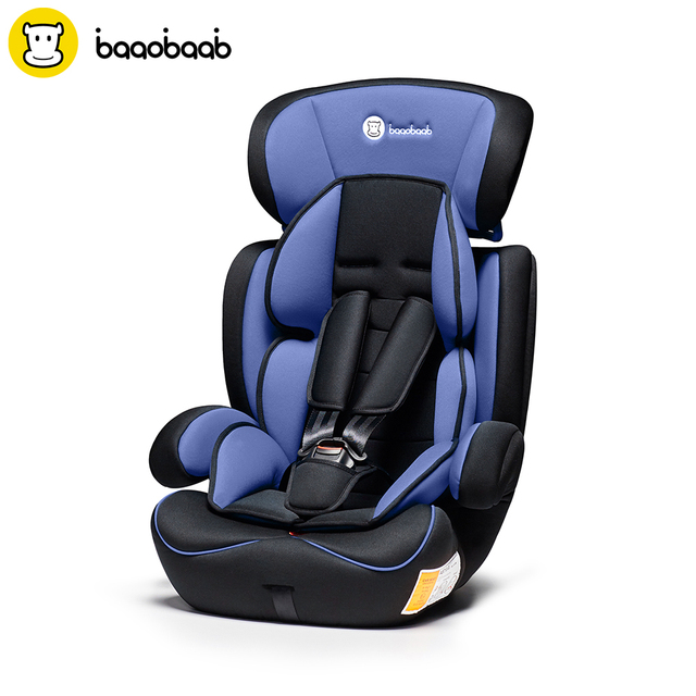 BAAOBAAB Adjustable Baby Car Seat Group 1/2/3 (9 36 kg) Child Safety