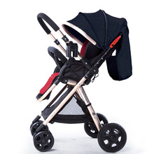 7.8 Luxury Lightweight Baby Stroller Foldable Baby Carriage