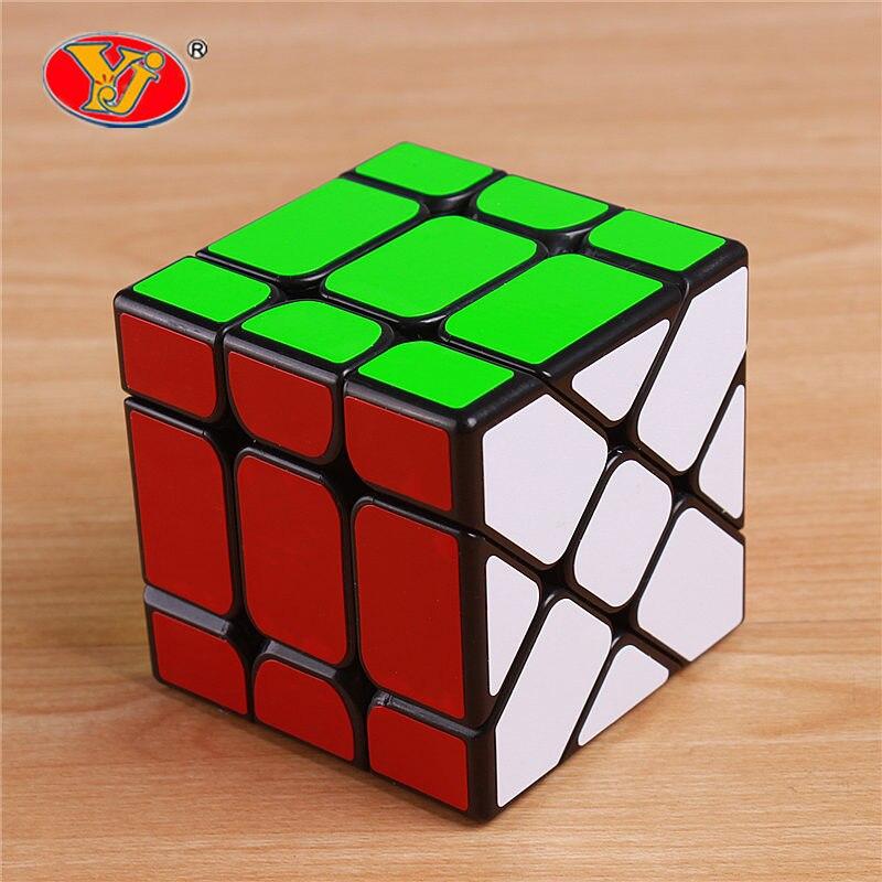 Original YJ puzzle 3x3x3 viteză magică pescuit cub Yongjun învățare jucării educație pentru copii copii cubo magico