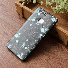 For Huawei mate20pro case s8pius painted relief for P30 Mate10pro TPU silicone anti-fall Apple