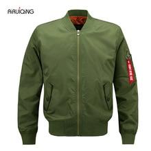 2017 spring Plus Size 5XL Men Bomber Jacket Air Force One Hip Hop Patch Designs Slim Fit Pilot Bomber Jacket Coat Men Jackets