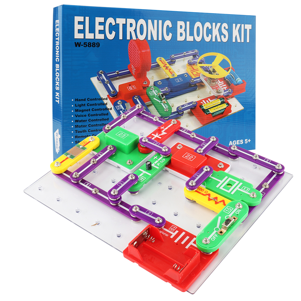 Circuit intégré Électronique Blocs L'enseignement des Sciences Jouet Créatif en Physique Technologie D'apprentissage Jouets pour ChildrenW589