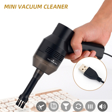 Portable Handheld USB Vacuum Keyboard Cleaner Mini Keyboard Brush For Laptop Desktop PC Computer Cleaners Tools