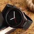 Casual Nature Wood Quartz Wristwatches Bamboo Creative Leather Band Analog Women Men Best Gift Relogio Masculino