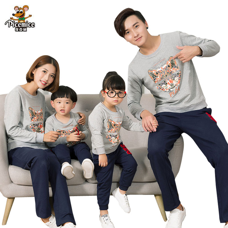 Matching Family Clothing 2017 Autumn Family Look Mother ...