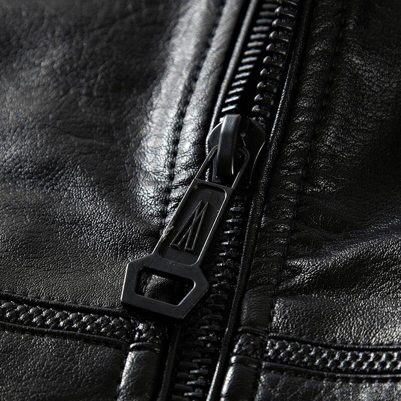 Militaire Noir 4xl Faux vert Hiver Et Veste Sur Armygreen De M Manteaux Mâle Luxe Marque 2018 Moto Cuir Suède En Hommes Mens Biker La Taille wSgqABv