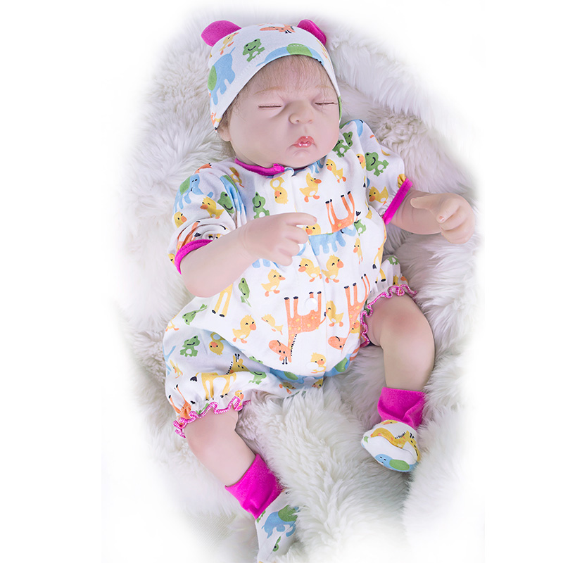48cm Silicone Reborn Dolls for Sale Cotton Body Soft Newborn Baby Dolls Children Gift Fashion Dolls Bebe Alive Reborn Bonecas 22 reborn dolls toys half soft silicone body reborn baby cotton body with pacifier bear doll newborn baby bonecas child gift