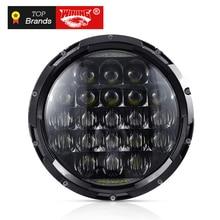 7 inch LED Headlight Assembly Bulk Car Driving Light Hi/Lo DRL 12V LED headlamp for Truck 4x4 Off-road Vehicle цена