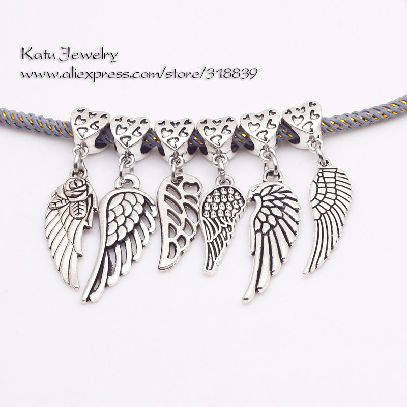 charm pandora alas angel