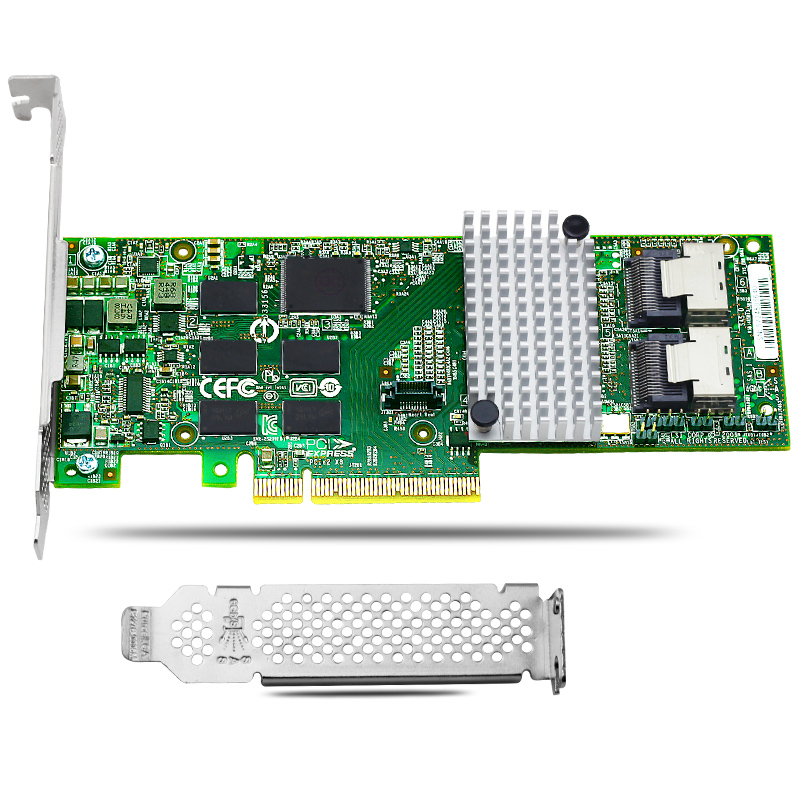 9750 8i 8 Ports 6Gb s SATA SAS PCI Express Raid Controller Card for 3ware font