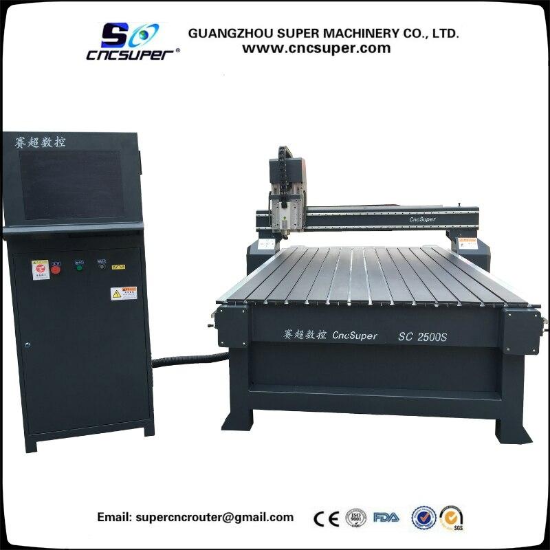 Nouvelle Machine à bois CNC routeur SC2500S haute qualité pour le travail du bois