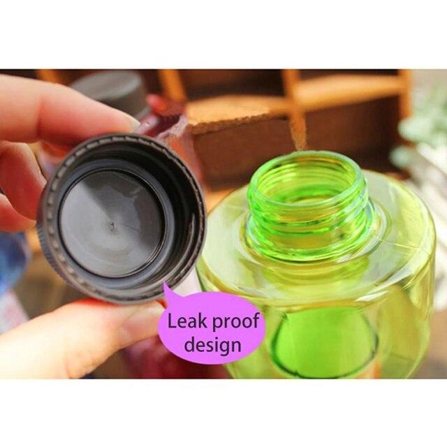 Sports Water Leakproof Portable Unbreakable Bottle 550ml 5
