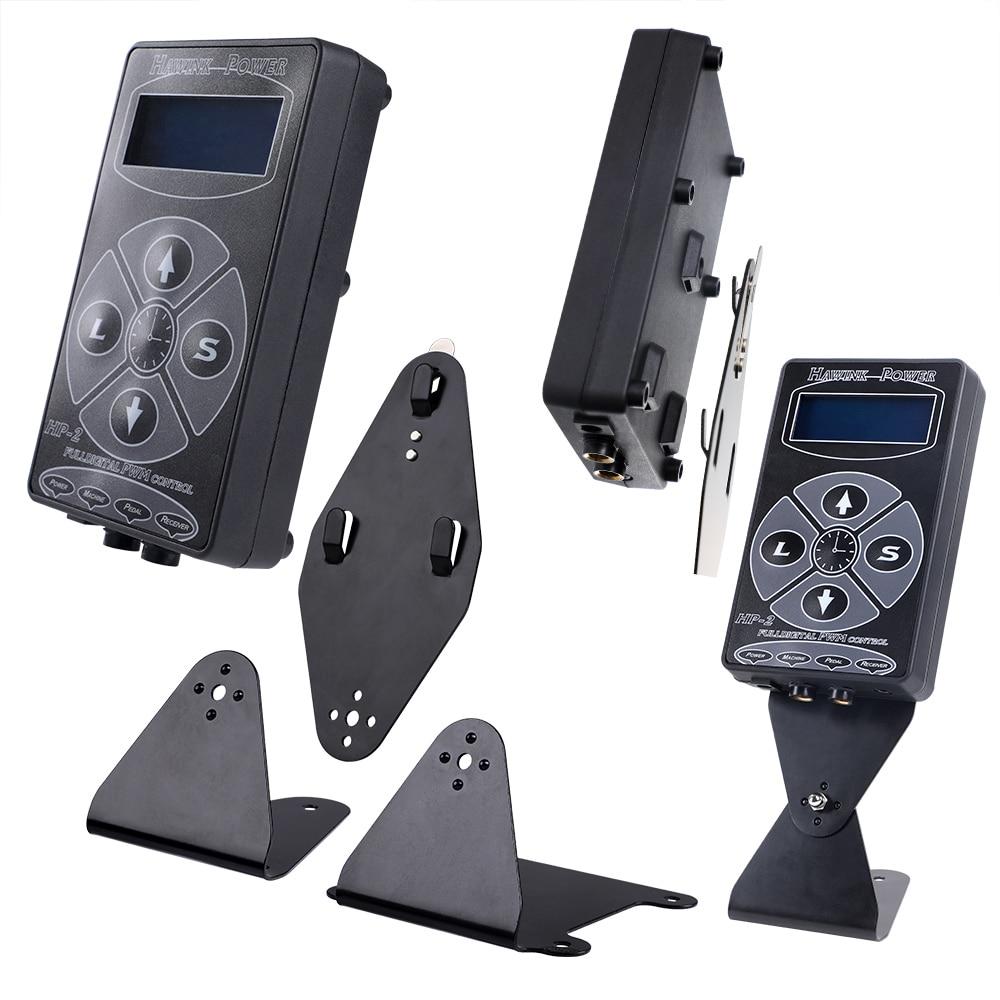 Stigma Tattoo Machine Newest Professional Black HP 2 Hurricane Tattoo Power Supply Digital Dual Machines Free