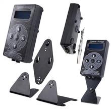 все цены на Stigma Tattoo Machine Newest Professional Black HP-2 Hurricane Tattoo Power Supply Digital Dual Machines Free Shipping P139-1 онлайн