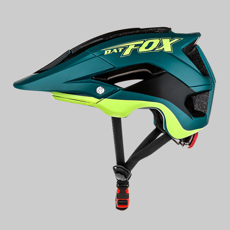 BatFox Lightweight Unisex Bicycle Helmet MTB Mountain Cycling Safety Capacete Integrally-molded Bike Helmet For casco bicicleta