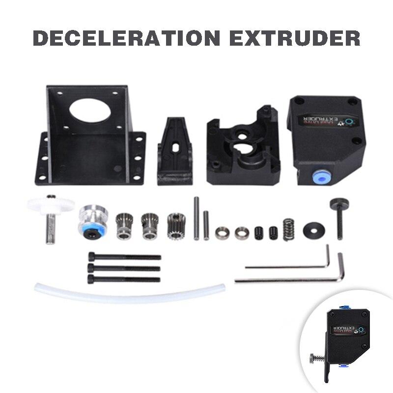 3D Printer Parts BMG Extruder Clone Bowden Extruder Dual Gear Drive Extruder BMG Deceleration Extruder for 3D CR10