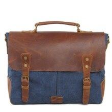 Luxury brand tote bag Canvas men messenger bags vintage designer handbags high quality briefcase laptop bag dollar price sachel