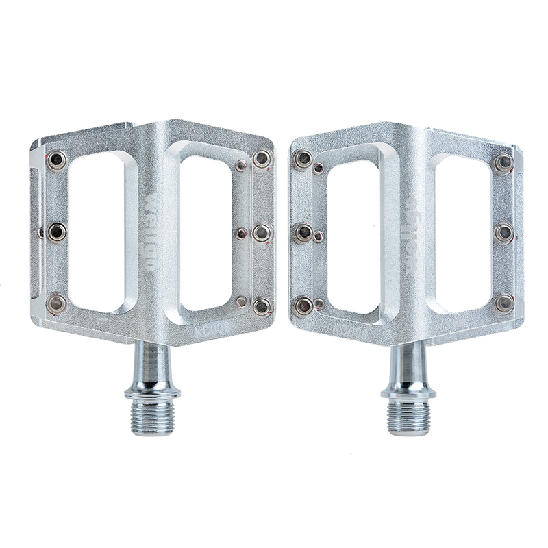 WELLGO KC008 Riding Bicycle Ultralight Aluminum Extruted Platform Pedals 9 16 Spindle Sealed Bearing for Bike