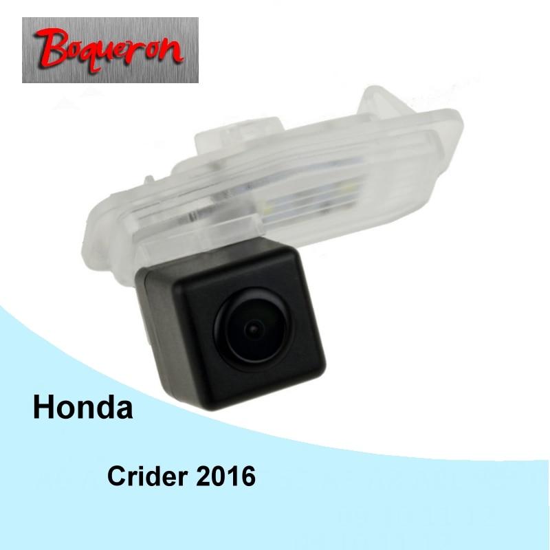 BOQUERON for Honda Crider 2016 2017 Car Rear View Camera HD CCD Backup Reverse Parking Camera ...