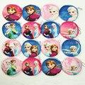 Hot venda bolsa de moedas de pelúcia dos desenhos animados Elsa Anna princesa meninas moedas saco chave feminina carteira de impressão Digital de presente das crianças