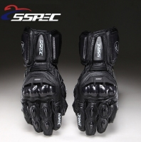 SSPEC Carbon Fiber Motorcycle Gloves GP PRO Leather Glove Men Cycling Racing Guantes Moto Motorbike Luvas