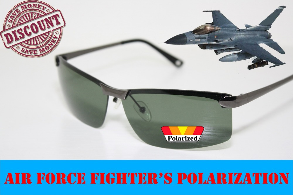 2014 Real Photo Polarized Air Fighter\'s Mens Drivi...